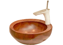 Wooden Basin PERLE